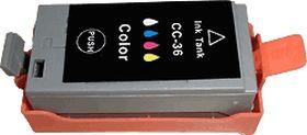 COMPATIBLE CANON - CLI36 couleur (12 ml) Cartouche générique avec puce