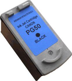 COMPATIBLE CANON - PG50 noir (24 ml) Cartouche d'encre recyclée - Alternative Canon