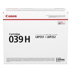 CANON ORIGINAL - Canon 039H Noir (25000 pages) Toner de marque