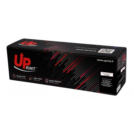 PREMIUM - 054HBK Noir (3100 pages) Toner remanufacturé Qualité Premium - COPIE