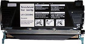 RECYCLE LEXMARK - C5220KS Noir (4000 pages) Toner remanufacturé