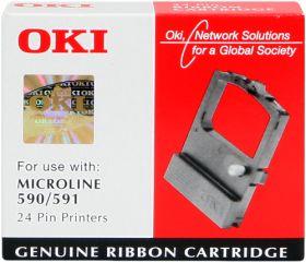 OKI ORIGINAL - OKI 09002316 Noir (4MC) Ruban encreur de marque