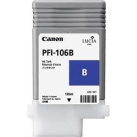 CANON ORIGINAL - Canon PFI-106 Bleu (130 ml) Cartouche de marque