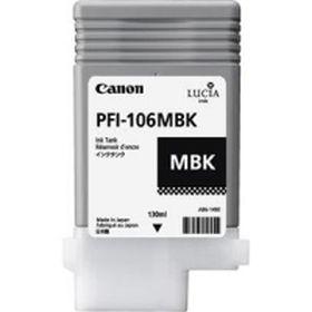 CANON ORIGINAL - Canon PFI-106 Noir Mat (130 ml) Cartouche de marque