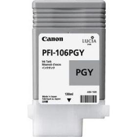 CANON ORIGINAL - Canon PFI-106 Photo Gris (130 ml) Cartouche de marque