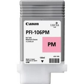 CANON ORIGINAL - Canon PFI-106 Photo Magenta (130 ml) Cartouche de marque