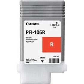 CANON ORIGINAL - Canon PFI-106 Rouge (130 ml) Cartouche de marque