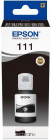 EPSON ORIGINAL - 111 / T03M1 Noir (6000 pages) Bouteille recharge d'encre de marque (capacité XL)