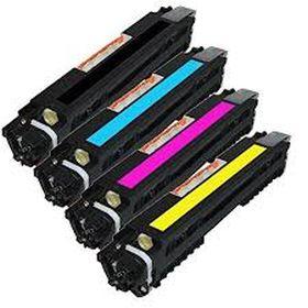 COMPATIBLE HP - 130A Pack x 4 toners génériques (Noir, Cyan, Magenta, Jaune)