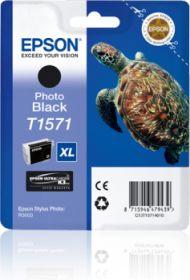 EPSON ORIGINAL - Epson T1571XL Noir Photo (25,9 ml) Cartouche de marque