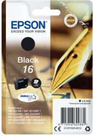EPSON ORIGINAL - Epson 16 Noir (5,4 ml) Cartouche de marque