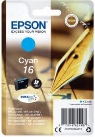 EPSON ORIGINAL - Epson 16 Cyan (3,1 ml) Cartouche de marque