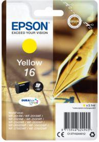 EPSON ORIGINAL - Epson 16 Jaune (3,1 ml) Cartouche de marque