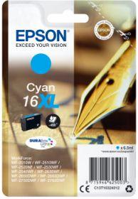 EPSON ORIGINAL - Epson 16XL Cyan (450 pages) Cartouche de marque