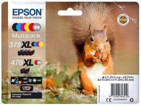 EPSON ORIGINAL - Epson 378XL / 478XL Multipack de 6 cartouches de marque