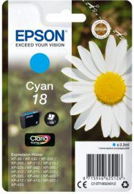EPSON ORIGINAL - Epson 18 Cyan (3,3 ml) Cartouche de marque