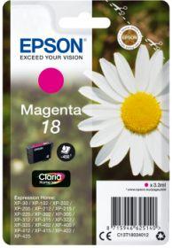 EPSON ORIGINAL - Epson 18 Magenta (3,3 ml) Cartouche de marque