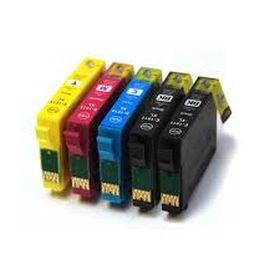 COMPATIBLE EPSON - 18XL Pack 4 cartouches génériques + 1 noire offerte