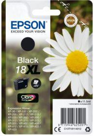 EPSON ORIGINAL - Epson 18XL Noir (11,5 ml) Cartouche de marque