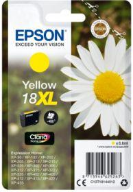 EPSON ORIGINAL - Epson 18XL Jaune (6,6 ml) Cartouche de marque