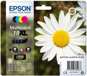 EPSON ORIGINAL - Epson 18XL Pack 4 cartouches (Noir, Cyan, Magenta, Jaune)