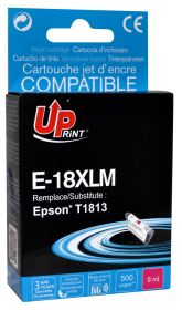UPRINT/ QUALITE PREMIUM - UPrint 18XL Magenta (9 ml) Cartouche remanufacturée Epson Qualité Premium