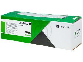 LEXMARK ORIGINAL - Lexmark 20N20K0 Noir (1500 pages) Cartouche de toner