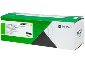 LEXMARK ORIGINAL - Lexmark 20N20Y0 Jaune (1500 pages) Cartouche de toner