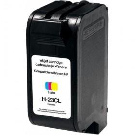 RECYCLE HP - 23 / C1823D Couleur (30 ml) Cartouche remanufacturée