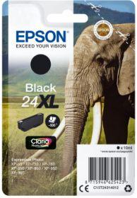 EPSON ORIGINAL - Epson 24XL noire (10 ml) Cartouche de marque