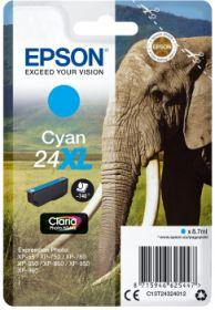 EPSON ORIGINAL - Epson 24XL cyan (8,7 ml) Cartouche de marque
