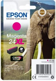 EPSON ORIGINAL - Epson 24XL magenta (8,7 ml) Cartouche de marque
