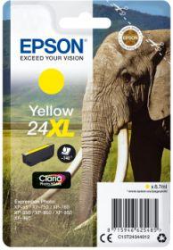 EPSON ORIGINAL - Epson 24XL jaune (8,7 ml) Cartouche de marque