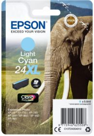 EPSON ORIGINAL - Epson 24XL cyan clair (8,7 ml) Cartouche de marque