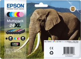 EPSON ORIGINAL - Epson 24XL Pack 6 cartouches T2438XL