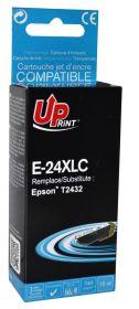 UPRINT - UPrint 24XL Cyan (15 ml) Cartouche générique Epson Qualité Premium