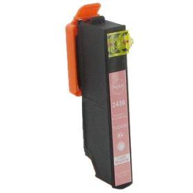 COMPATIBLE EPSON - 24XL magenta clair (12 ml) Cartouche générique T2436 avec puce