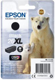 EPSON ORIGINAL - Epson 26XL noir T2621 (12,2 ml) Cartouche de marque