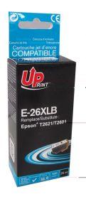 UPRINT/ QUALITE PREMIUM - UPrint 26XL noir (25 ml) Cartouche générique Epson Qualité Premium