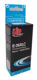 UPRINT/ QUALITE PREMIUM - UPrint 26XL cyan (15 ml) Cartouche générique Epson Qualité Premium