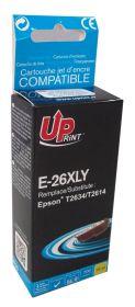 UPRINT/ QUALITE PREMIUM - UPrint 26XL jaune (15 ml) Cartouche générique Epson Qualité Premium