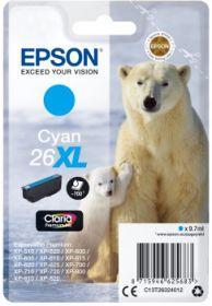 EPSON ORIGINAL - Epson 26XL cyan (9,7 ml) Cartouche  de marque T2632