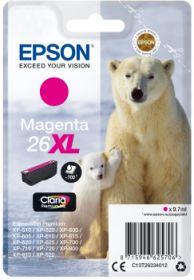EPSON ORIGINAL - Epson 26XL magenta (9,7 ml) Cartouche  de marque T2633