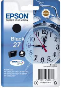 EPSON ORIGINAL - Epson 27 Noir (6,2ml) Cartouche de marque