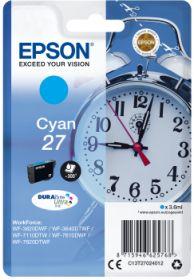EPSON ORIGINAL - Epson 27 Cyan (3,6ml) Cartouche de marque