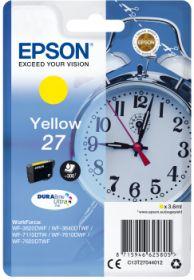EPSON ORIGINAL - Epson 27 Jaune (3,6ml) Cartouche de marque