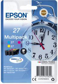 EPSON ORIGINAL - Epson 27 Multipack 3 Cartouches couleurs