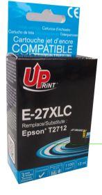 UPRINT - UPrint 27XL cyan (13 ml) cartouche générique Epson Qualité Premium