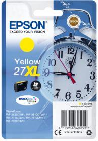 EPSON ORIGINAL - Epson 27XL jaune (10,4ml) Cartouche de marque