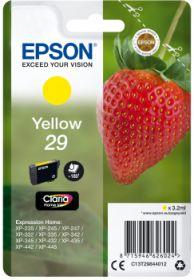 EPSON ORIGINAL - Epson 29 jaune (3,2 ml) Cartouche de marque T2984